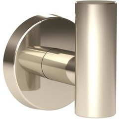 Arrondi 2-1/4 Inch Length Contemporary Robe Hook - Polished Stainless Steel