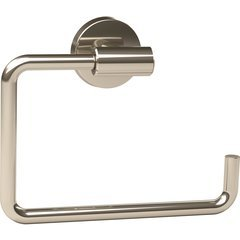 Arrondi 6-7/16 Inch Length Contemporary Towel Ring - Polished Stainless Steel