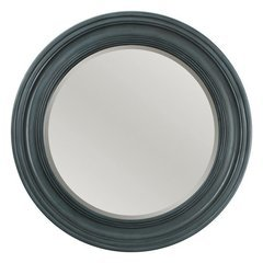 Round Decorative Mirror - Harbor Blue