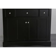 "39"" SB2205BMC Single Vanity Cabinet Only-Black"