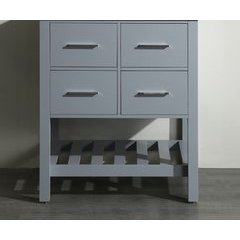"29"" SB250-1GRMC Single Vanity Cabinet Only-Gray"