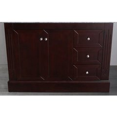 "45"" SB255EMC Single Vanity Cabinet Only-Dark Espresso"