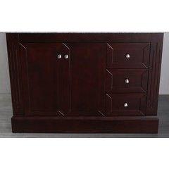 "45"" SB255EMC Single Vanity Cabinet Only-Dark Espresso"