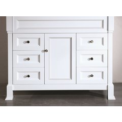 "43"" SB278 Single Vanity Cabinet Only-White"