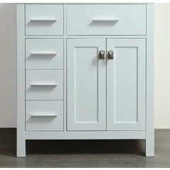 "29"" SBR2104WHMC Single Vanity Cabinet Only-White"
