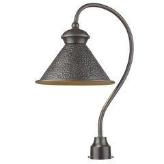 Pickwick 1-Light Dark Sky Outdoor Post Lamp - Oil Rubbed Bronze
