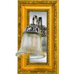 Signature 7-3/4 x 13-3/4 Inch Side Sconce - Parisian Antique Silver
