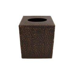 Small Hand Undermount Tissue Box Cover - Oil Rubbed Bronze