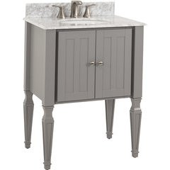 "28"" Jensen Bath Elements Vanity - w/ Marble Top"
