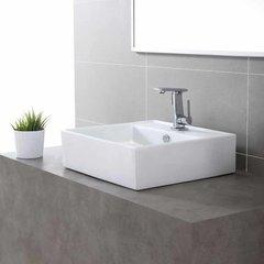 Novus One Handle Single Hole Bathroom Faucet w/ Drain-Chrome