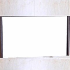 "25"" x 47 Wall Mount Mirror - Wenge"