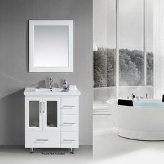 "32"" Stanton Single Sink Bathroom Vanity - White"