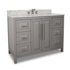 """48"""" Cade Contempo Single Sink Bathroom Vanity - Gray"""