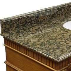 """31"""" Baltic Brown Granite Backsplash"""