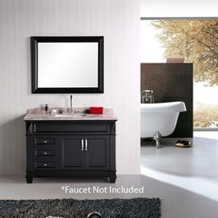 "48"" Hudson Single Sink Bathroom Vanity - Espresso"