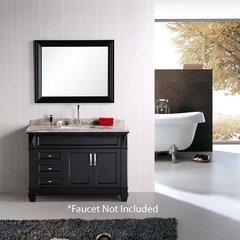 "48"" Hudson Single Sink Bathroom Vanity - Espresso"