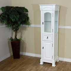 "18"" Linen Tower - White"