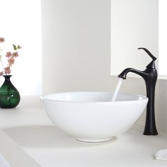 Ventus Vessel Bathroom Faucet - Oil Rubbed Bronze
