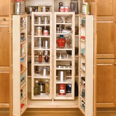 45 inch Swing Out Pantry Kit Maple