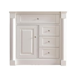 "36"" New Haven Single Cabinet Only w/o Top - Cottage White"