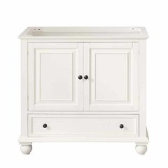 """36"""" Thompson Cabinet Only w/o Top - French White"""