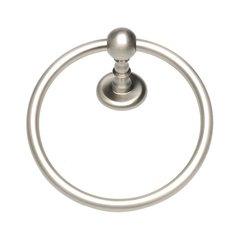 Emma Towel Ring Brushed Nickel