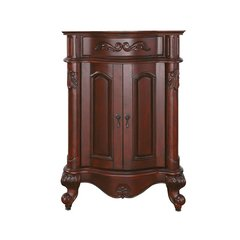 "24"" Provence Cabinet Only w/o Top - Antique Cherry"