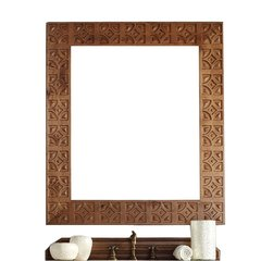 "42"" x 37"" Mykonos Wall Mount Mirror - Cinnamon"
