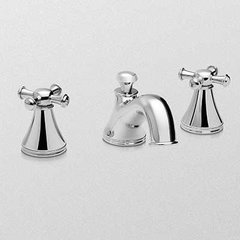 Vivian Two Handle Widespread Bathroom Faucet -Brushed Nick