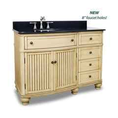 "48"" Compton Single Sink Vanity - Buttercream"