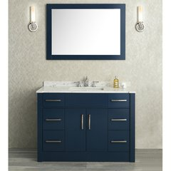 "48"" Seacliff Radcliff Single Sink Vanity - Midnight Blue"