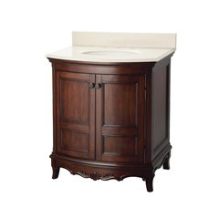 "31"" Astria Single Sink Bathroom Vanity - Antique Cherry"