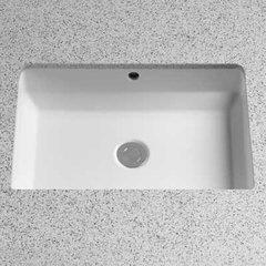 """21-1/2"""" x 14-1/8"""" Undermount Bathroom Sink - Cotton White"""