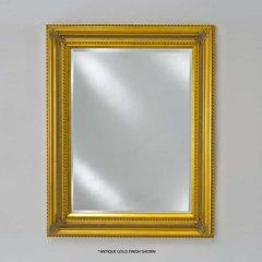 "Estate 28"" Wall Mount Mirror - Antique Silver"