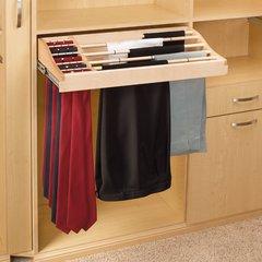 30 inch Pants And Tie Rack-Wood