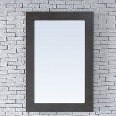 "30"" x 42"" Metropolitan Wall Mount Mirror - Silver Oak"