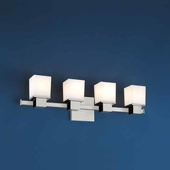 Milford 4 Light Bathroom Vanity Light - Polished Chrome