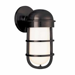 Groton 1 Light Bathroom Sconce - Old Bronze