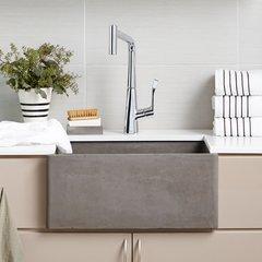 "24"" x 18"" Farmhouse Reversible Kitchen Sink - Ash <small>(#NSK2418-A)</small>"