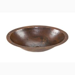 "17"" x 13"" Undermount Bathroom Sink - Oil Rubbed Bronze"