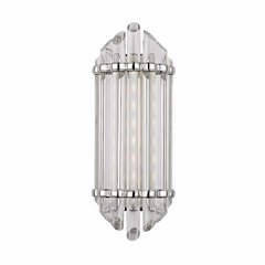 Albion 8 Light Bathroom Sconce - Polished Nickel