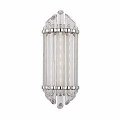 Albion 8 Light Bathroom Sconce - Polished Nickel