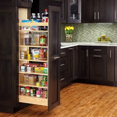 Pullout Wood Pantry 448-TP Series by Rev-A-Shelf