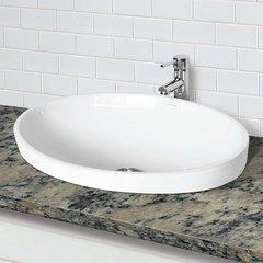 "DECOLAV Delphine 23"" x 16-9/10"" Vessel Bathroom Sink"