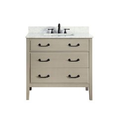 36u0026quot; Delano Cabinet Only W/o Top   Taupe Glaze