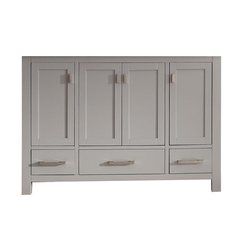 "48"" Modero Single Cabinet Only w/o Top - Chilled Gray"