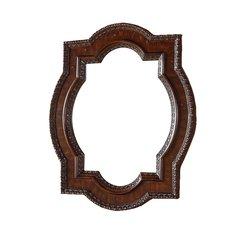 "41"" x 35"" Castilian Wall Mount Mirror - Aged Cognac"