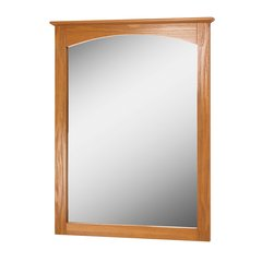 "24"" x 31"" Worthington Wall Mount Mirror - Oak"