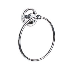Aria Towel Ring Polished Chrome