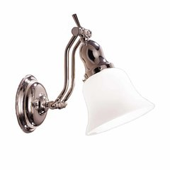 Hadley 1 Light Bathroom Sconce - Polished Nickel